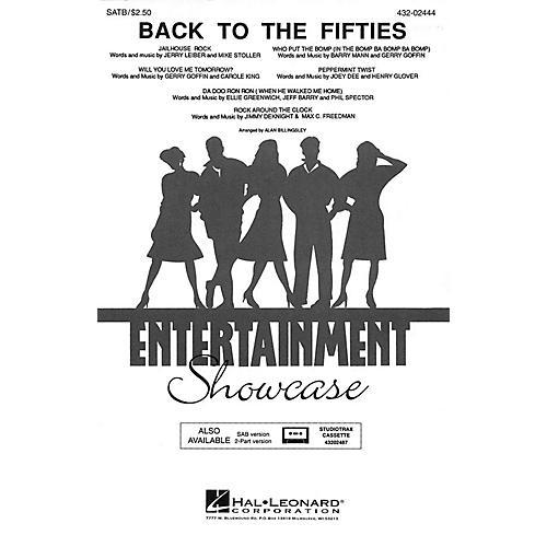 Hal Leonard Back to the Fifties (Medley) 2-Part Arranged by Alan Billingsley