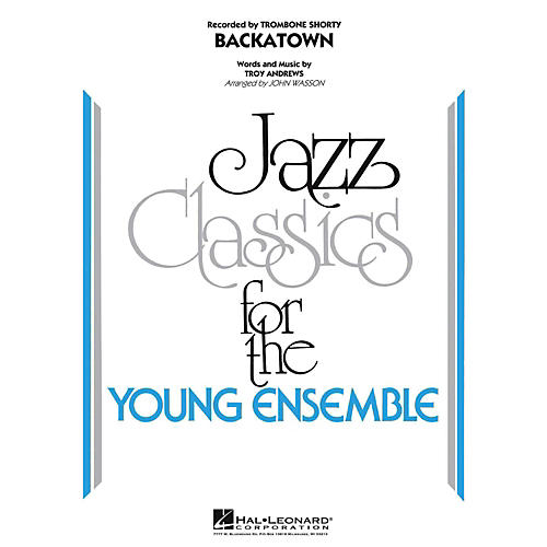 Hal Leonard Backatown Jazz Band Level 3
