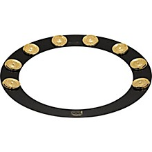 Meinl Backbeat Pro Tambourine with Brass Jingles, 14""