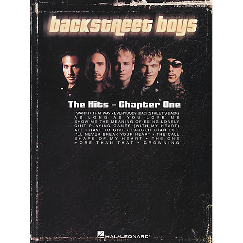 Hal Leonard Backstreet Boys - The Hits Chapter One Piano, Vocal, Guitar Songbook