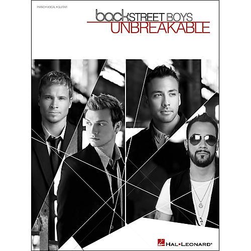 Hal Leonard Backstreet Boys Unbreakable arranged for piano, vocal, and guitar (P/V/G)