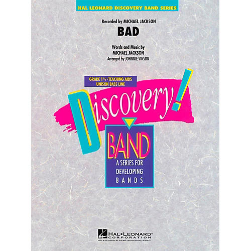 Hal Leonard Bad - Discovery Concert Band Level 1