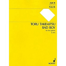 Schott Japan Bad Boy (for 2 Guitars - Performance Score) Composed by Toru Takemitsu