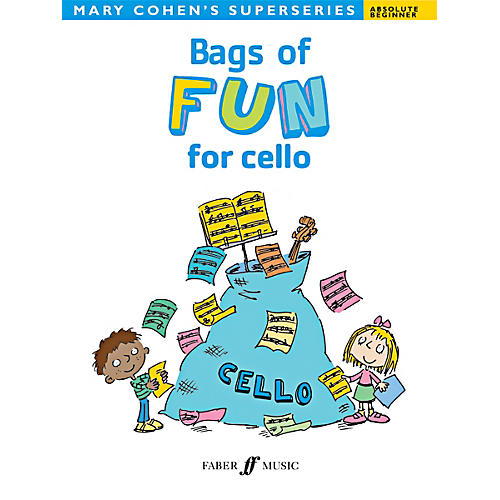 Alfred Bags of Fun for Cello Book