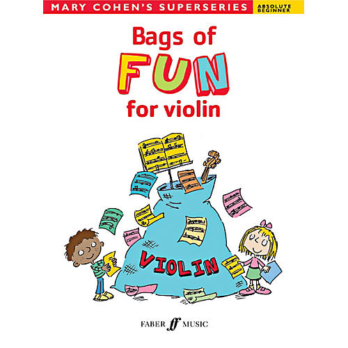 Alfred Bags of Fun for Violin Book
