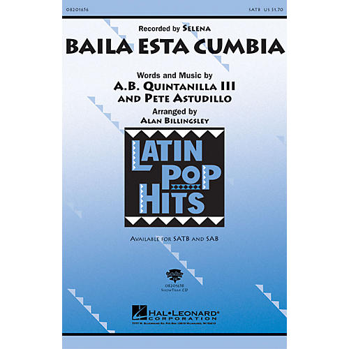 Hal Leonard Baila Esta Cumbia SATB arranged by Alan Billingsley