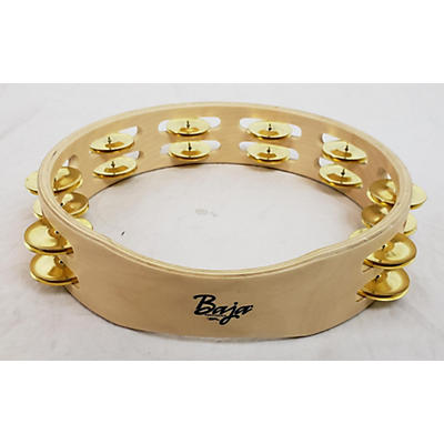 Sound Percussion Labs Baja Percussion Double Row Headless Tambourine With Brass Jingles Tambourine
