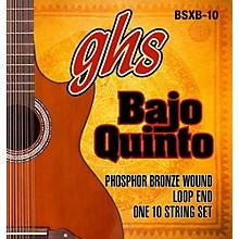 GHS Bajo Quinto 10-String Phosphor Bronze Acoustic Guitar Strings