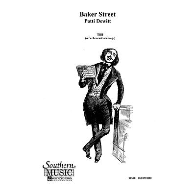 Hal Leonard Baker Street (Choral Music/Octavo Sacred Tbb) TBB Composed by Dewitt, Patti