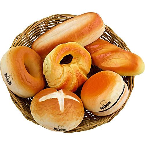 Nino Baker's Shaker 6 Piece Bread Assortment