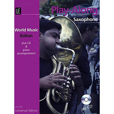 Carl Fischer Balkan Play-Along Book with CD - Saxophone with Accompaniment