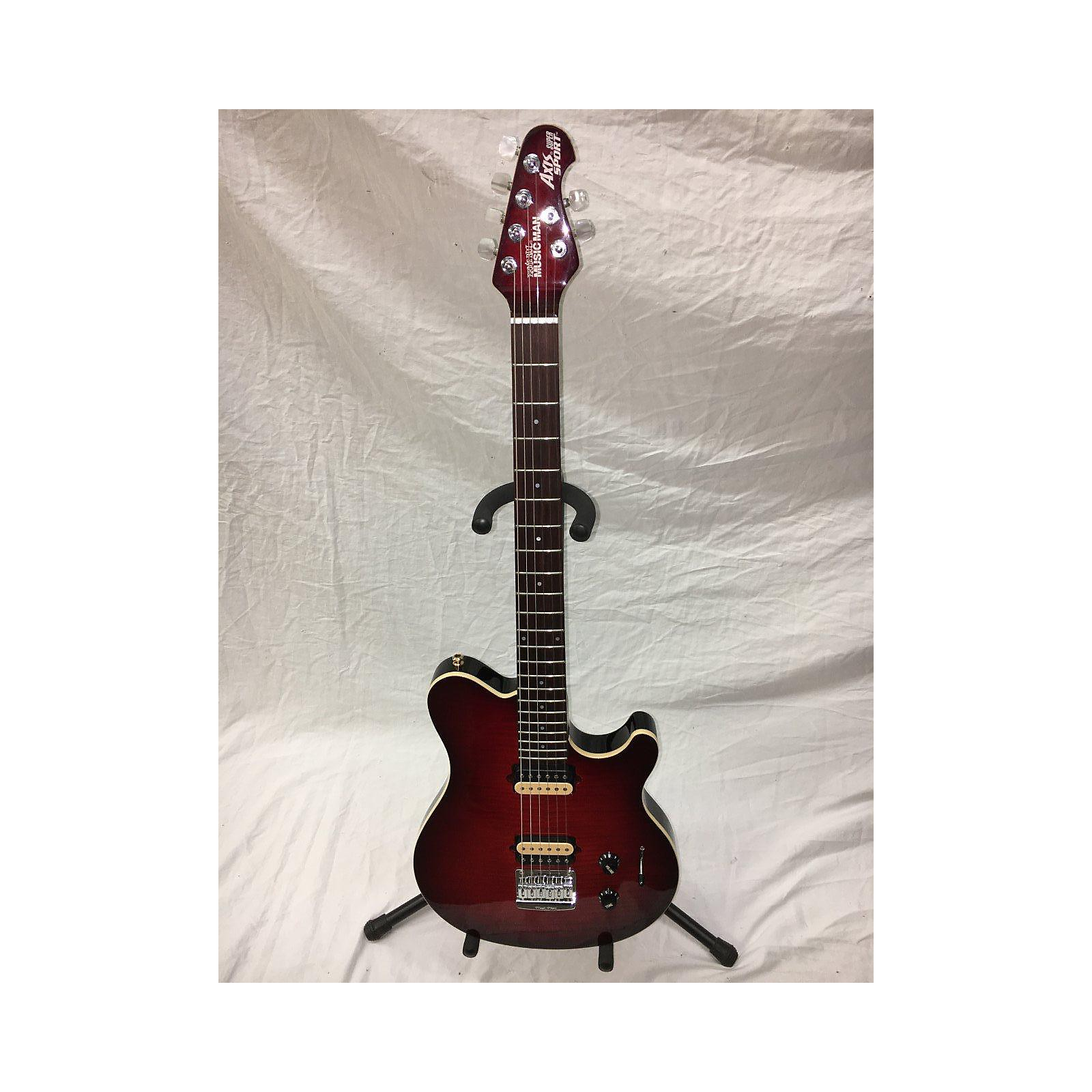 Ernie Ball Music Man Ball Family Reserve Axis HARDTAIL Solid Body Electric Guitar