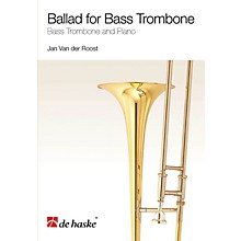 De Haske Music Ballad for Bass Trombone (Bass Trombone and Piano) De Haske Play-Along Book Series Softcover