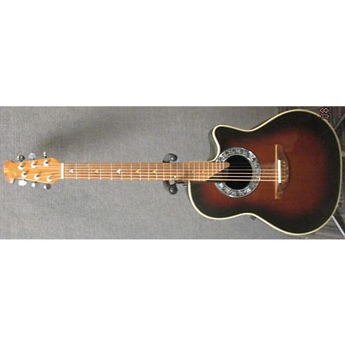 Ovation Balladeer 1871 Acoustic Electric Guitar 2 Color Sunburst