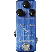 Open Box One Control Baltic Blue Fuzz Effects Pedal