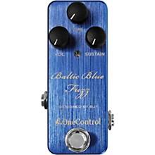 Open BoxOne Control Baltic Blue Fuzz Effects Pedal
