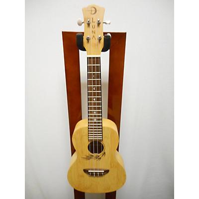 Luna Guitars Bamboo Concert Ukulele Ukulele