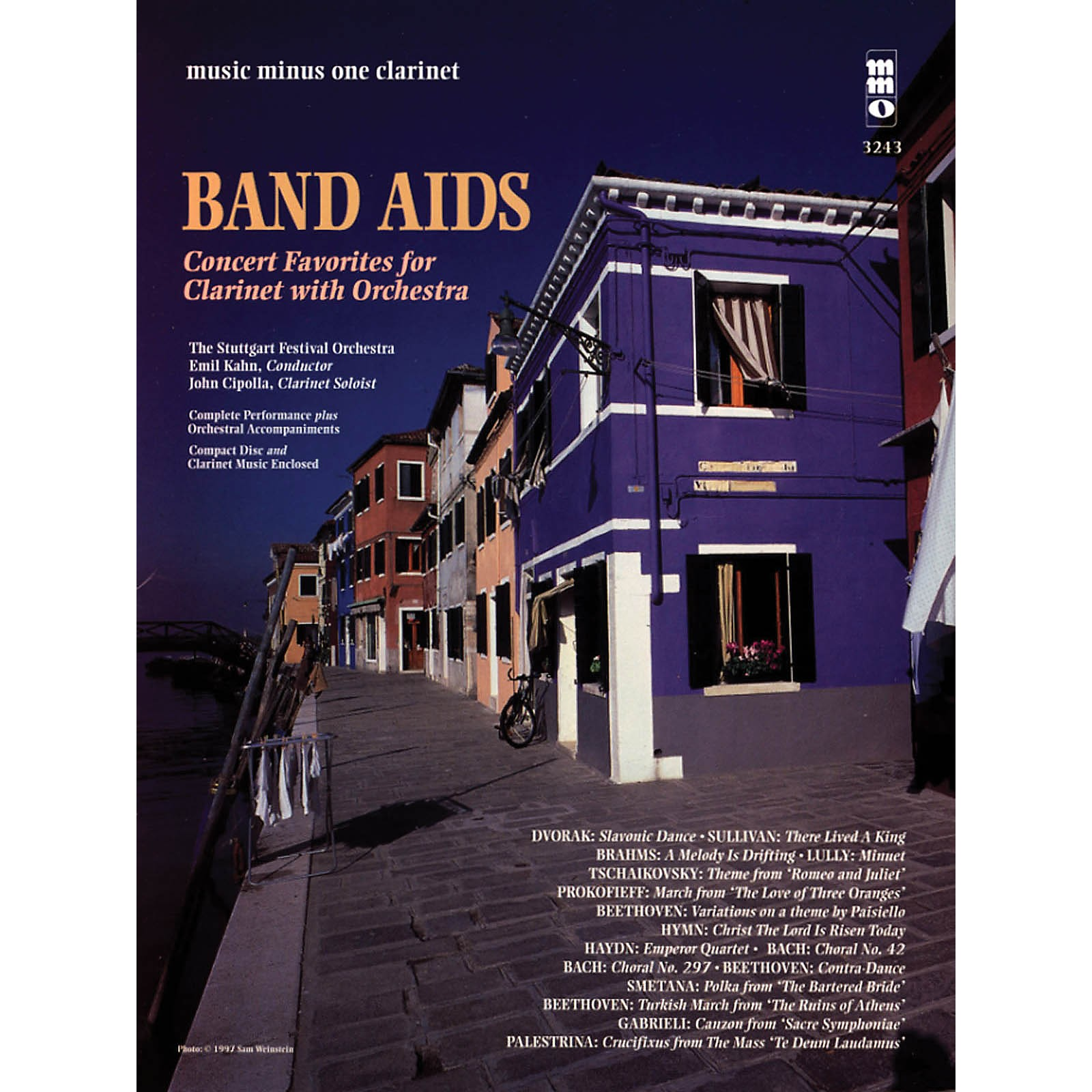 Music Minus One Band Aids - Concert Band Favorites with Orchestra Music Minus One Series BK/CD