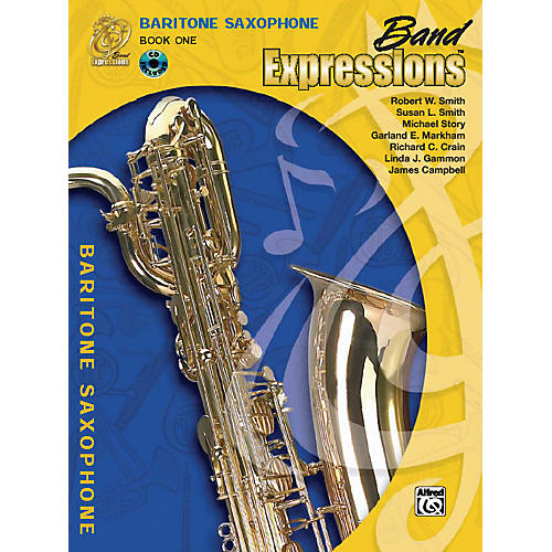 Alfred Band Expressions Book One Student Edition Baritone Saxophone Book & CD