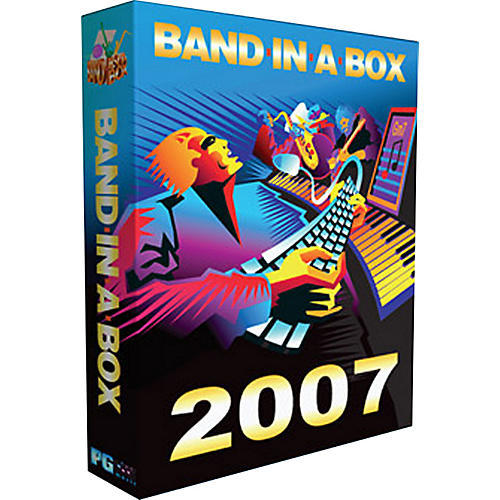 PG Music Band-In-A-Box 2007 Pro Windows