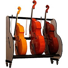 A&S Crafted Products Band Room Double Bass Rack