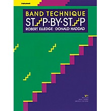 KJOS Band Technique Step-By-Step Alto Sax