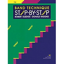 KJOS Band Technique Step-By-Step Flute