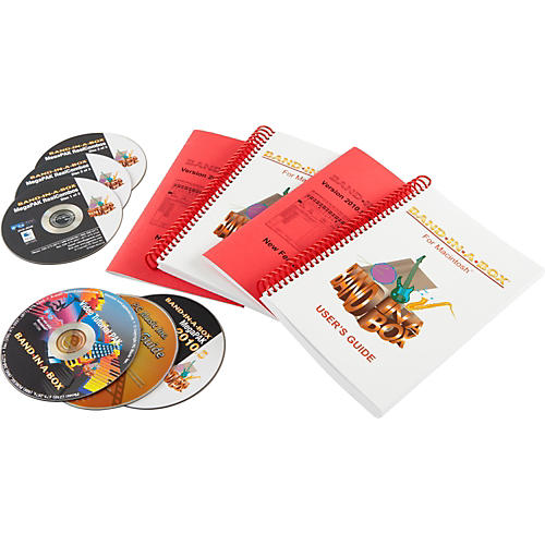 PG Music Band-in-a-Box 2010 MegaPak for MacIntosh (5-User Lab Pack)