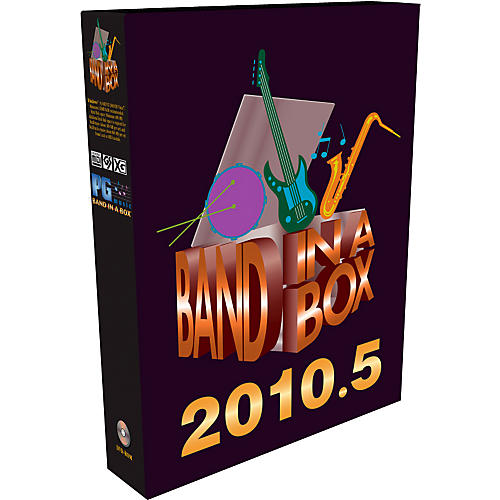PG Music Band-in-a-Box 2010 for Windows MegaPAK Software