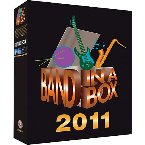 PG Music Band-in-a-Box 2011 OmniPAK Windows (Portable Hard Drive)