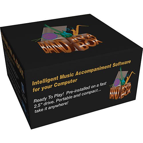 Emedia Band-in-a-Box 2012 EverythingPAK (Win-Portable Hard Drive)