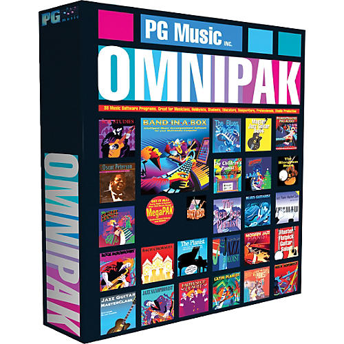 Emedia Band-in-a-Box 2012 OMNIPAK (Win-Portable Hard Drive)