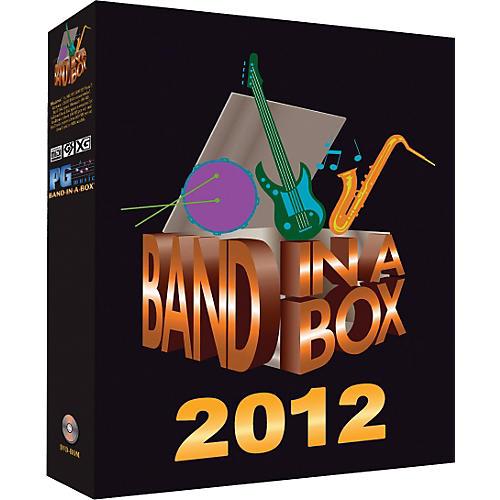 Emedia Band-in-a-Box 2012 Pro WINDOWS