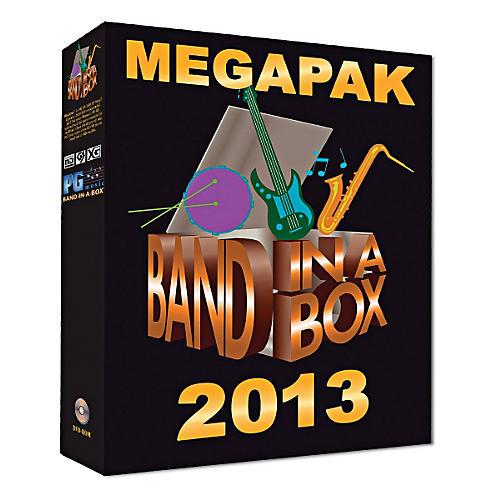 PG Music Band-in-a-Box 2013 MEGAPAK (Windows DVD-ROM)