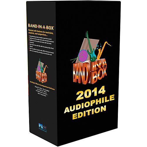 PG Music Band-in-a-Box 2014 Audiophile Edition (Win-Portable Hard Drive)