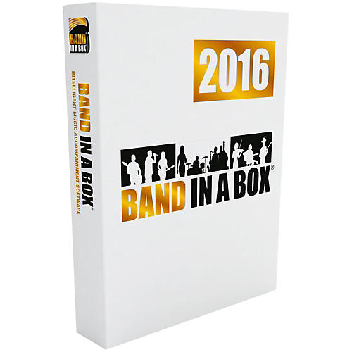 PG Music Band-in-a-Box 2016 Audiophile Edition (Win-USB Hard Drive)