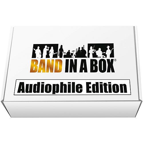 PG Music Band-in-a-Box 2018 Audiophile Edition [MAC USB Hard Drive]