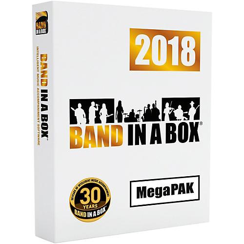 PG Music Band-in-a-Box 2018 MEGAPAK DVD-ROM (Windows)