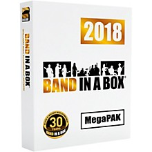 PG Music Band-in-a-Box 2018 MEGAPAK Software Download (Mac)