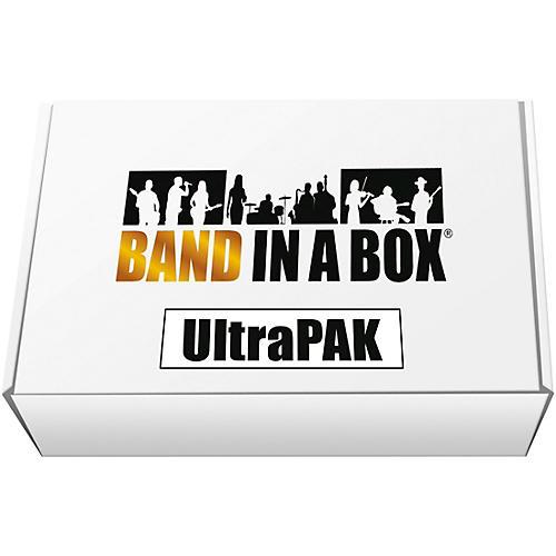 PG Music Band-in-a-Box 2018 UltraPAK USB Hard Drive (Windows)