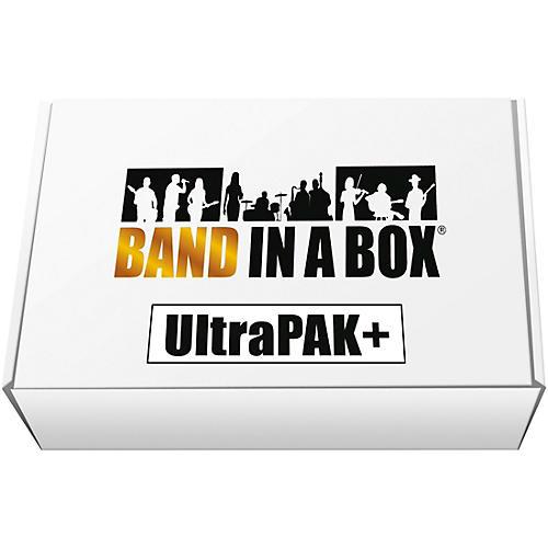 PG Music Band-in-a-Box 2018 UltraPAK+ USB Hard Drive (Windows)