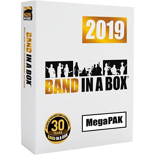 PG Music Band-in-a-Box 2019 MegaPAK [Win USB Flash Drive]