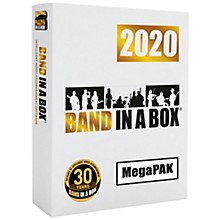 PG Music Band-in-a-Box 2020 MEGAPAK [MAC] (Boxed)