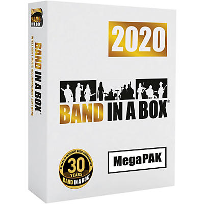 PG Music Band-in-a-Box 2020 MegaPAK [Windows] (Download)