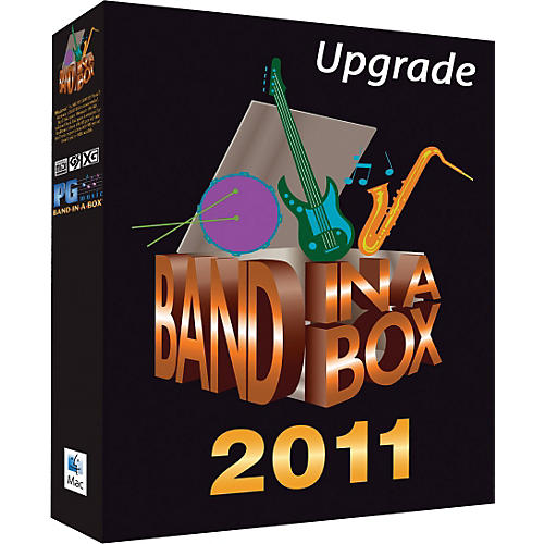 PG Music Band-in-a-Box Audiophile 2011 MAC Hard Drive Audiophile-Audiophile Upgrade