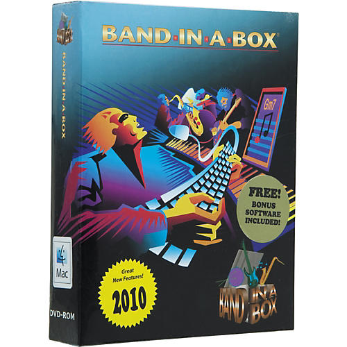 PG Music Band-in-a-Box Pro 2010 for MacIntosh