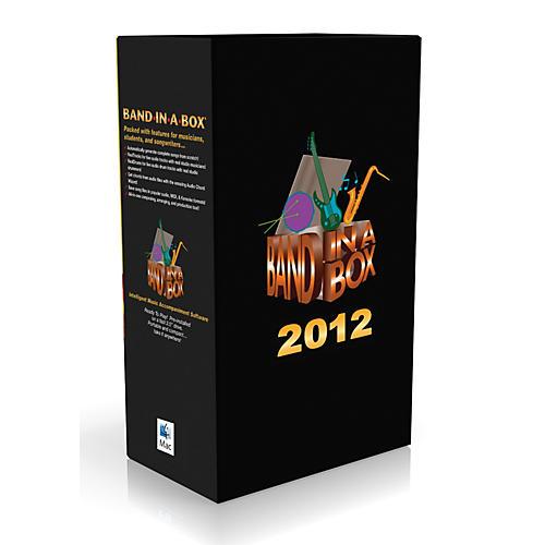 PG Music Band-in-a-Box Pro 2012 MAC UltraPlusPAK (Mac-Hard Drive)