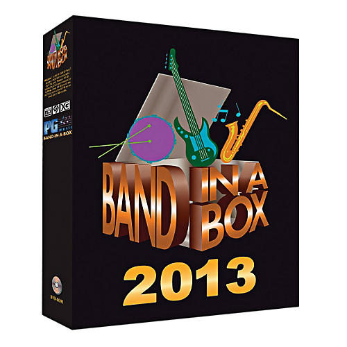PG Music Band-in-a-Box Pro 2013 (Windows DVD-ROM)