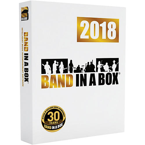 PG Music Band-in-a-Box Pro 2018 Software Download (Windows)