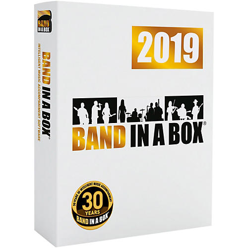 PG Music Band-in-a-Box Pro 2019 [Win USB Flash Drive]